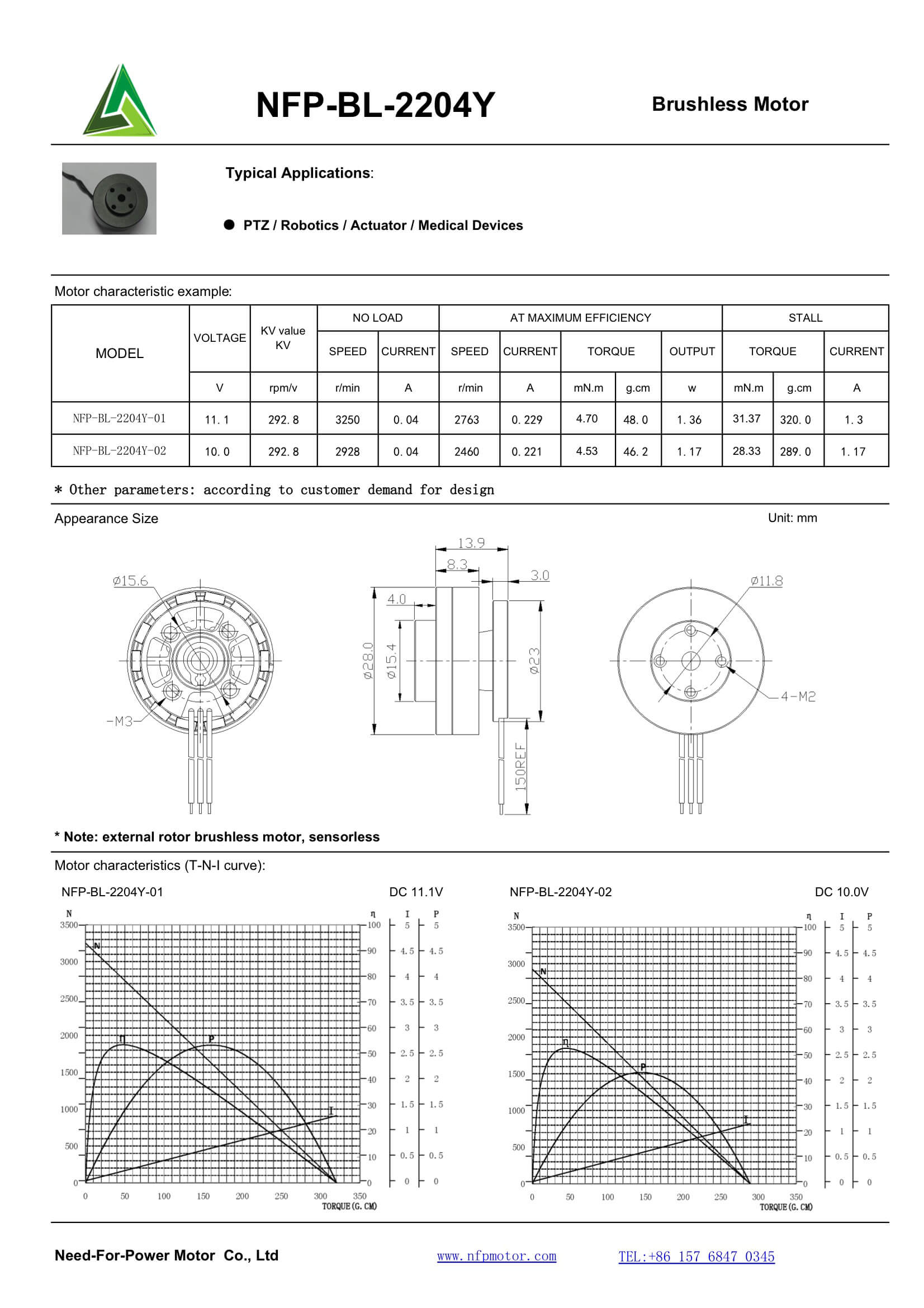 Need For Power Motor Micro Dc Motors Brushless Diagram Nfp Bl 2204y