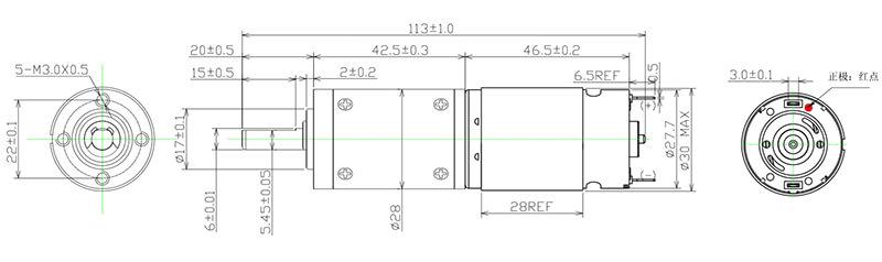 NFP-28P395-brushed-motor-esc