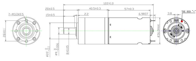 NFP-36P555-ff-180sh-motor
