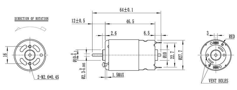 NFP-3910SHP-dc-motor-company
