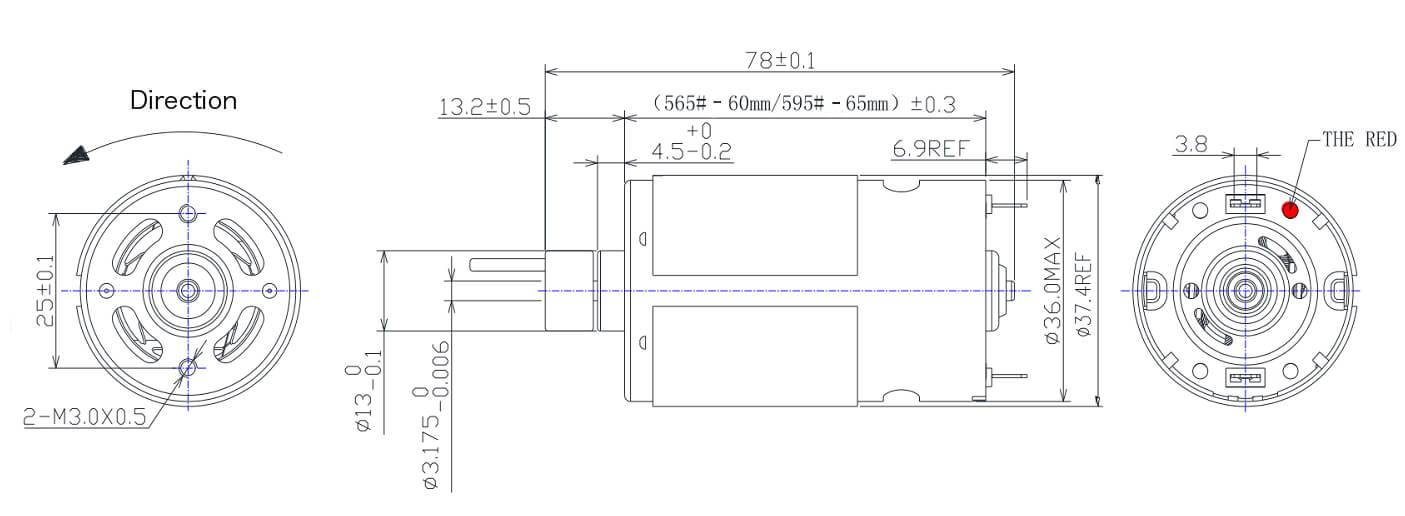 NFP-565SHP-595SHP-12-volt-getriebemotor-12-volt-gear-motor