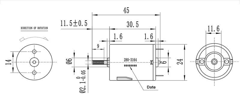 mabuchi-motor-NFP-280SA